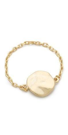 Gorjana Chloe Chain Ring   $36.00