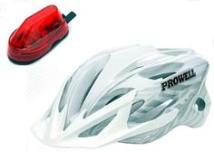 BARGAIN Prowell F59R Vipor Cycle Helmet + Shark Fin Light JUST £25.99 At Amazon - Gratisfaction UK Bargains #bargains