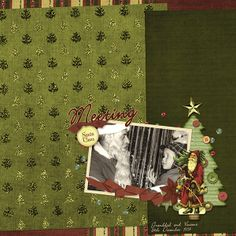 Tannenbaum Collection, designed by Jennifer Ziegler, Scrap Girls, LLC digital scrapbooking product designer