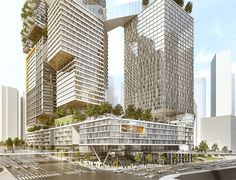Kimmel Eshkolot Architects has won the competition for the Kaplan North Masterplan in Tel Aviv, Israel. The main concept and original idea for the 32,000 sqm area in the centre of the city was to make a busy urban space and a peaceful residential neighbourhood harmoniously coexist. At the base of the project, the removal and …