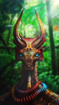 Anthony Sieben has created beautiful creatures that even look realistic up close.