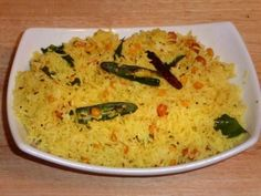 Lemon rice is a delicious south Indian dish. Lemon juice gives a very refreshing and tangy flavor to the rice.