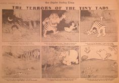 Gustave Verbeek – The Terrors of the Tiny Tads (1907)