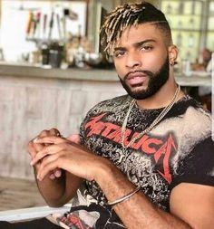 Black Men Haircuts, Cool Mens Haircuts, Black Men Hairstyles, Twist Hairstyles, Hairstyles Haircuts, Mens Dreadlock Styles, Dreadlock Hairstyles For Men, Dreads Styles, Black Hair Cuts