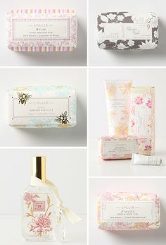 Available in plenty of delectable fragrances at Macy May! Packaging and quality are ever-so-important to us, and clearly the same goes for Margot Miller the owner and created of all Lollia products! Skincare Packaging, Cosmetic Packaging, Beauty Packaging, Bottle Packaging, Brand Packaging, Packaging Design, Branding Design, Packaging Ideas, Soap Packing