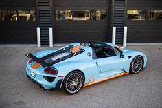 """""""Gulf Livery Porsche 918 Spyder"""""""