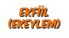 türkçe ekfiil - YouTube