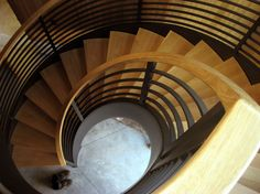 Remarkable Wood Staircase Ideas in Staircase Modern design ideas with Architect Eric Davies of Walker Moody freestanding