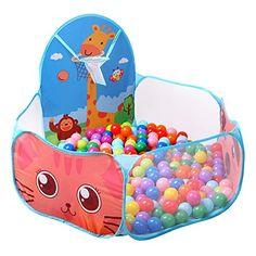 FocuSun Kids Ball Pit Playpen Indoor and Outdoor Portable... https://www.amazon.com/dp/B01G2VLCFM/ref=cm_sw_r_pi_dp_QTjAxbXC2DQHW