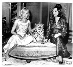 "Hayley Mills and Pola Negri - 1963 (from ""The Moon-Spinners"")"