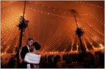 wedding tent lighting - Google Search