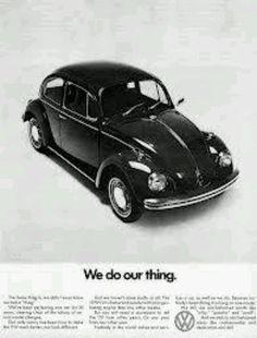 VW Vintage Ad