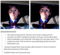 Frozen - Hans-To me I think it shows that they made him villain last minute. Disney And Dreamworks, Disney Pixar, Walt Disney, Punk Disney, Disney Fun, Disney Jokes, Disney Facts, Disney Magic, Disney Frozen