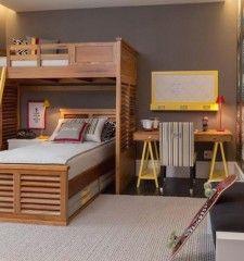 projeto quarto adolescente cama no alto quartos etc