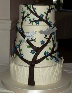 Wedding Cakes Gallery / Pictures- Laurie Clarke Cakes, Portland OR