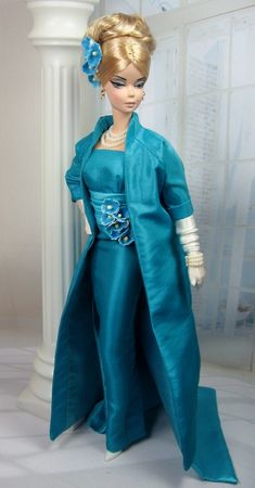 Bildergebnis für barbie ooak fashion for silkstone Barbie I, Barbie World, Barbie Dress, Barbie Stuff, Doll Stuff, Vintage Barbie Clothes, Doll Clothes, Beautiful Gowns, Beautiful Outfits