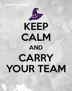 League of Legends Print Keep Calm and Carry Your Team by pharafax, $12.00