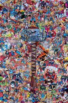 Marvel Collages by Mr. Garcin