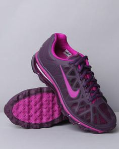 Women's Air Max+ 2011 Sneakers by Nike features:        Enhanced cushioning      Hyperfuse designed upper employs heat and pressure fusion      Lightweight durability and optimal breathability      Plush collar reduces slippage and provides a great step-in feel      EVA insole with Fitsole design      Self tie lace closure
