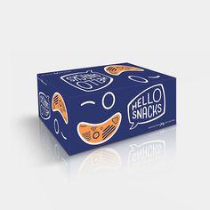 Hello Snacks - tahdahdesign