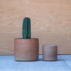 Raw Dot Planters | Pawena Thimaporn | pawenastudio.com