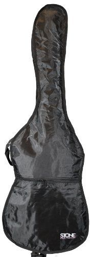 Stone Case Company STBag-5D Acoustic Dreadnaught Guitar Gig Bag by Stone Case Company. $11.74. The Stone STBAG-5D acoustic dreadnaught guitar gig bag is the perfect solution for your active musical life style! Featuring a sharp looking black 600 denier cordura look red accented rip stop nylon outer shell, heavy duty dual opening metal zippers, a jumbo outside accessory pocket, heavy duty dual handles and dual back pack straps, this is the bag you want to carry yo...