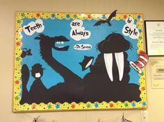 Dental Dr. Seuss bulletin board