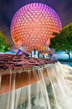 The second theme park built at the Walt Disney World Resort officially marks its anniversary today. Guests began celebrating at the park over the weekend, with members attending a special Epcot Disney World Fotos, Disney World Florida, Disney World Resorts, Disney Vacations, Disney Trips, Dream Vacations, Walt Disney World, Disney Travel, Family Vacations