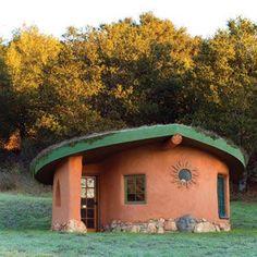 Earthship And Cob House