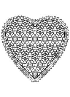 Free coloring page coloring-free-mandala-difficult-adult-to-print-heart.