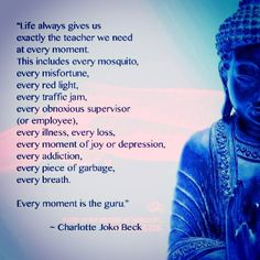 We are given exactly what we need. Realizing this changes your perspective & frees you from negativity