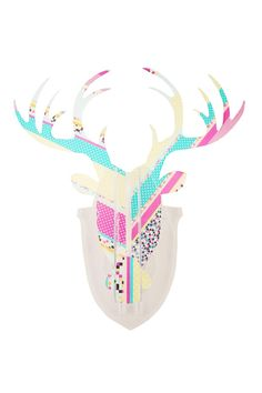 perspex stag head   Cotton On