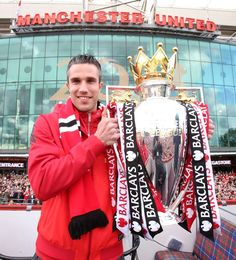 RVP Manchester United Champions again.