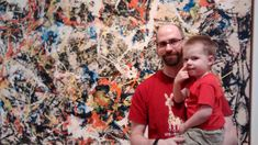 """Overheard more than once at one contemporary art show or another: """"My toddler could paint that!"""" Without the trial and error, yes it could seem simple. Annie, Contemporary Art, Couple Photos, Artist, Painting, Couple Shots, Artists, Painting Art, Couple Photography"""