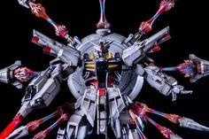 Painted Build: DA MG 1/100 Providence Gundam - Gundam Kits Collection News and Reviews Providence Gundam, Box Building, Gundam Seed, Facebook Features, Custom Paint Jobs, The 100, News, Collection