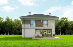Projekt domu Tytan - 134.26 m2 - koszt budowy 135 tys. zł Home Fashion, Construction, House Styles, Home Decor, House, Building, Room Decor, Home Interior Design, Home Decoration