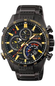 Relógio CASIO EDIFICE - EQB-500RBK-1AER Casio Edifice 35f635463cc