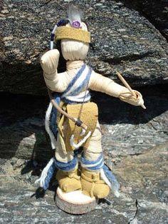 Corn Husk 'Hunter' Doll - 0218028