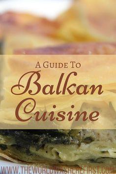 Balkan food guide