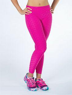 Calça Fitness Fusô com Frisos - Melina