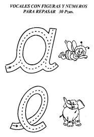 Resultado de imagen para trazos y delineado de numeros para niños