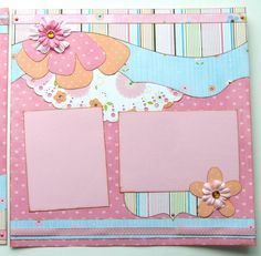 Once Upon a Dream Premade 2 Page 12x12 by GLOwormpaperdesigns