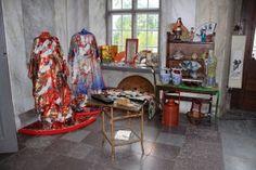 Bilder från uställningen på Salsta Slott 7