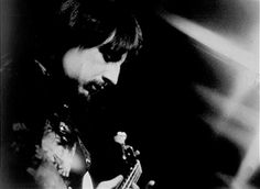 Bassist John Entwistle of the rock and roll band 'The Who' performs onstage in circa 1968.