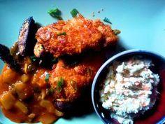 KFC otthon- ropogós-fűszeres csirkemell ízes zöldségekkel