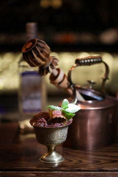 Mexican Swizzle [El Jimador Blanco Tequila, Tonka Bean Liqueur, Cinnamon, Cacao, Vanilla Syrup, Lime Juice, Chilli] | Bar Nightjar