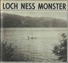 LOCH NESS MONSTER: An Interesting Photograph