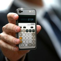 Old-School Calculator iPhone Case You can now give your iPhone a warm and  cozy feel by snuggling into a retro-yet-functional . 0bd0e205353