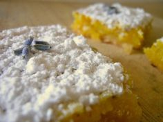 Sunny Days With My Loves - Adventures in Homemaking: Lavender Lemon Bars - My New Obsession