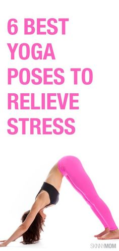 Yoga can melt your stress away. Here are six great poses that will not only work your body but also relieve your mind  #relievestress #stressmanagement